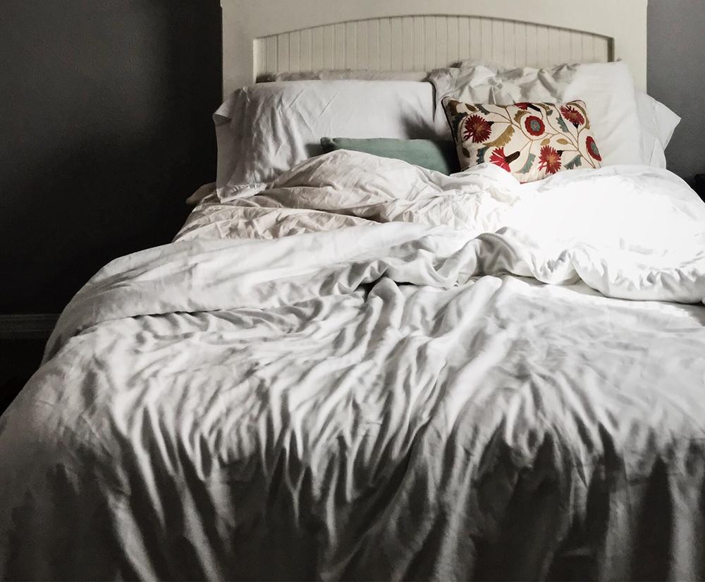 Mache dein Bett